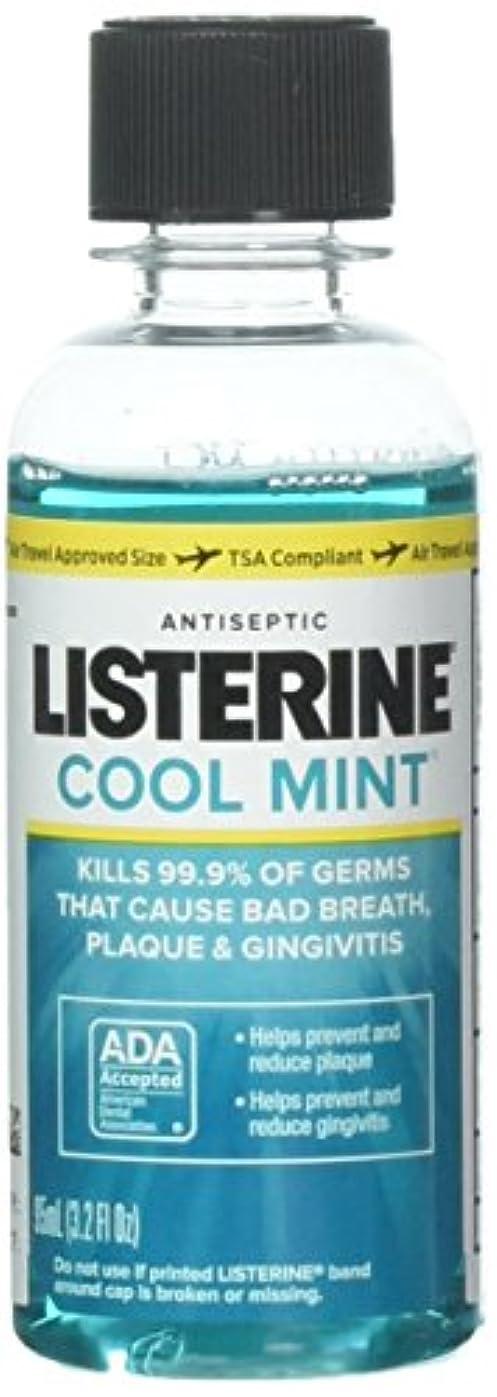 藤色囲まれた日付付きListerine Antiseptic Mouthwash, Cool Mint 3.2 oz (Pack of 10) by Listerine