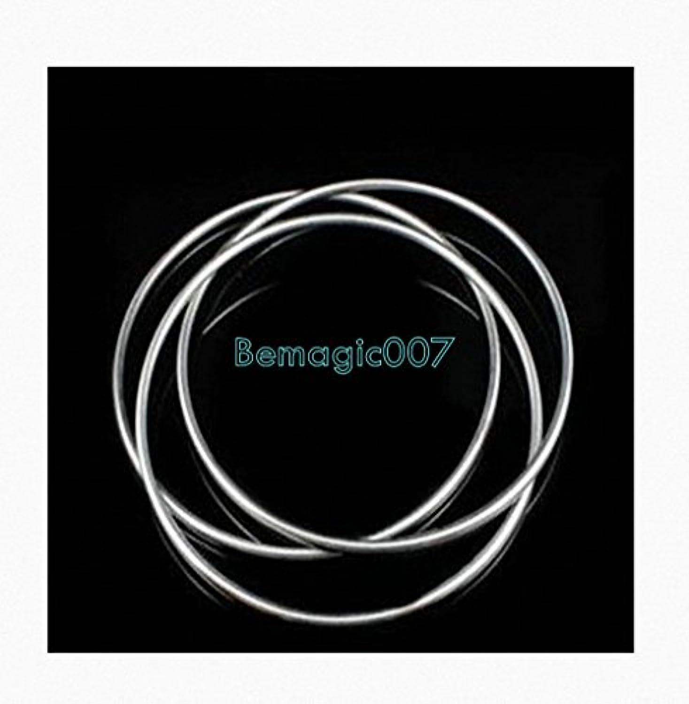 中国のリンクリング - ステージ3のリング30センチメートル(ステンレス鋼) Chinese Linking Rings - Stage 3 rings 30 cm (STAINLESS STEEL) -- ステージマジック