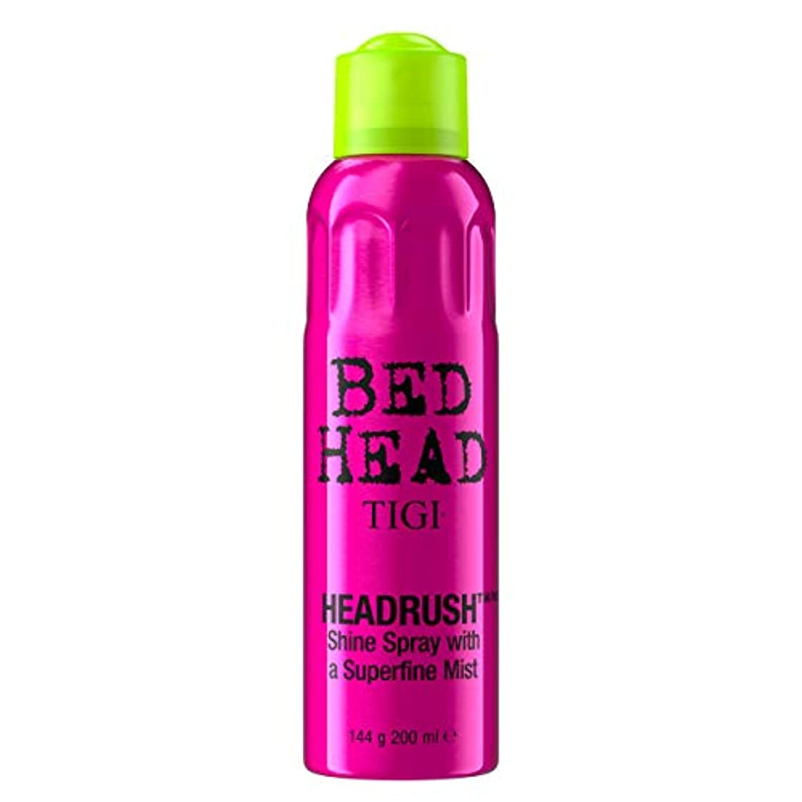 教え目の前の郵便物Tigi Headrush Shine Spray 200ml