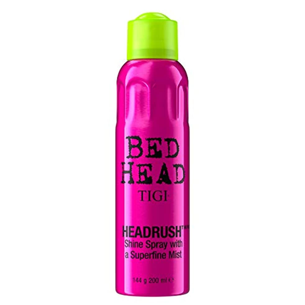 理解するヘビーパッチTigi Headrush Shine Spray 200ml