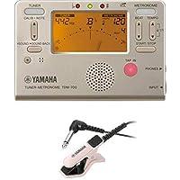 ヤマハ YAMAHA チューナーメトロノーム TDM-700G チューナー用マイクロフォン TM-30PK セット