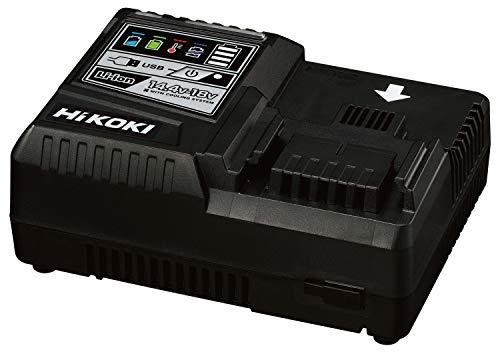 HiKOKI(旧日立工機) 急速充電器 スライド式リチウムイオン電池14.4V~18V対応 USB充電端子付 超急速充電 UC18YDL