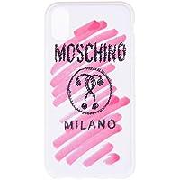 Moschino Women's 2A791183116209 White Pvc Cover