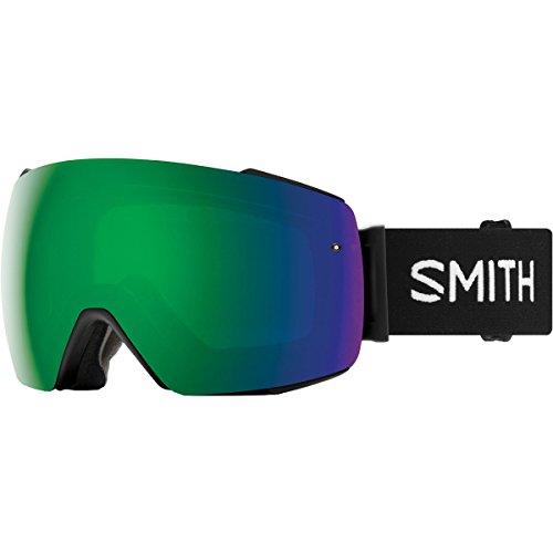 18-19 SMITH (スミス) ゴーグル I/O MG BLACK (SUN GREEN) アイ/オー マグ アジアンフィット ジャパンフィット スノーボード スキー