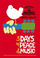 """WOODSTOCK Classic, Officially Licensed Artwork, Premium Quality, 4.5"""" x 3"""" - Sticker DECAL"""