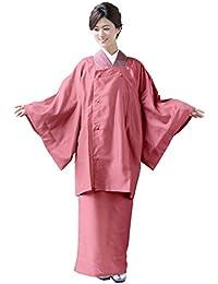 [キョウエツ] 雨コート 二部式 着物レインコート 和装 レディース