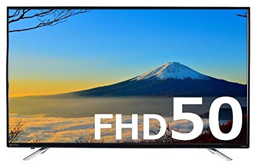 SANSUI 50V型 フルハイビジョン液晶テレビ 外付HDD録画対応(裏番...
