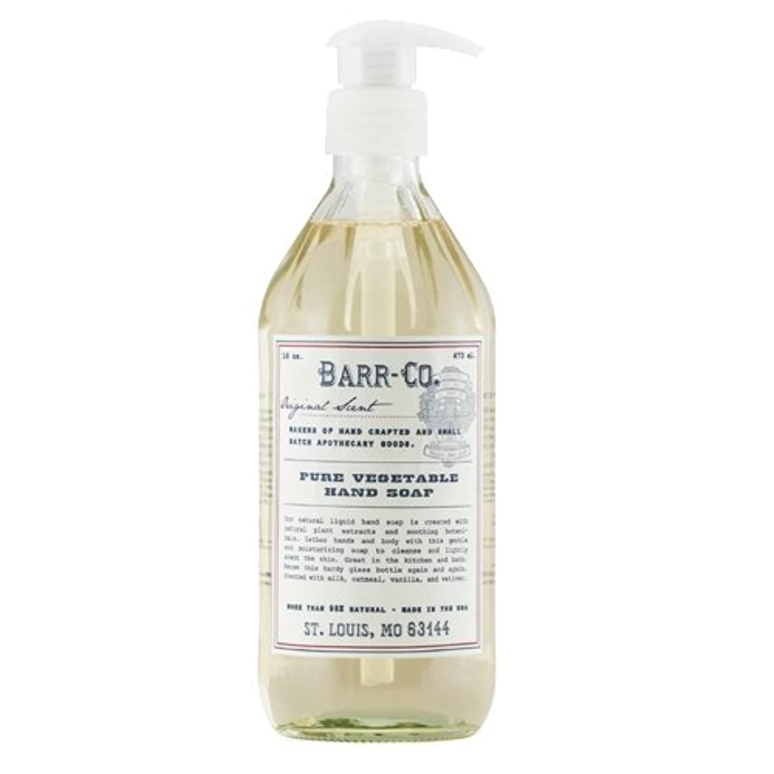 石油汚れたクーポンLiquid Hand Soap 16oz by Barr-Co. by Barr Co