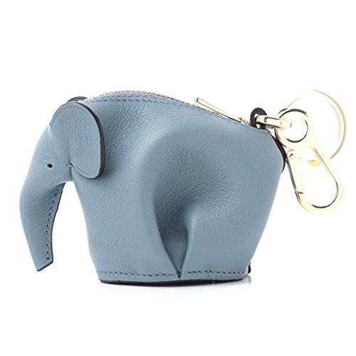 (ロエベ) LOEWE バッグチャーム ANIMAL ELEPHANT SMOOTH CALF アニマル [並行輸入品]