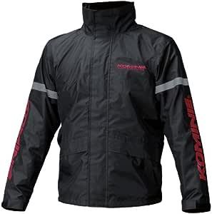 コミネ(KOMINE) バイク用 STDレインウェア ブラック L RK-543 896 雨具 カッパ
