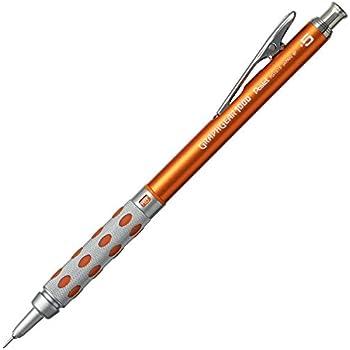 ぺんてる シャープペン グラフギア1000 オレンジ PG1015-15AMZ 0.5mm