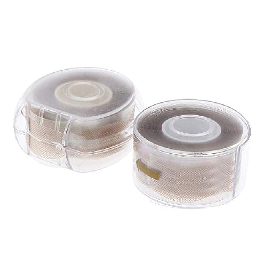 自分の力ですべてをする高潔ななぞらえるB Blesiya 約600ペア 通気性 二重まぶたテープ メッシュ粘着ステッカー DIY 2色選べ - ナチュラル