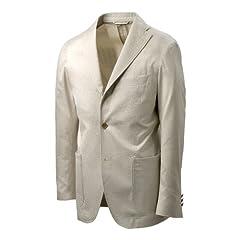 Ring Jacket Master Seed Cotton Silk Jacket: Beige