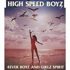 High Speed Boyz「CRASH CRASH」のCDジャケット