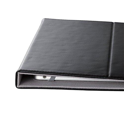 エレコム 7.0~8.4インチ汎用タブレットケース レザータイプ 黒 TB-08LCHBK 1個