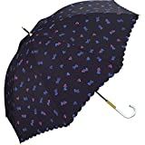 ワールドパーティー(Wpc.) 雨傘 長傘 ネイビー 58cm レディース ブラーハート 30048-09 NV