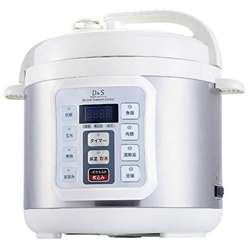 D&S(ディーアンドエス) 電気圧力鍋4.0L STL-EC...
