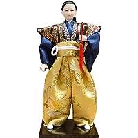 和風の伝統的な戦士忍者人形/ギフト/ジュエリー-A11