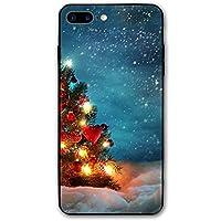 クリスマスツリ Apple Iphone 7/8 Plus 用携帯ケース 新しい 3D印刷 ッグ アイフォン シリコン男女兼用