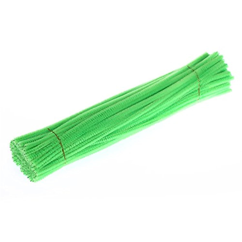 RaiFu ツイストロッド キッズクラフト 玩具 幼稚園 DIYおもちゃ ハロウィン クリスマス 誕生日ギフト 100PCS 蛍光緑色