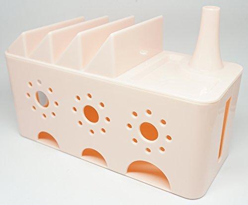 Praxia ケーブルボックス タップカバー 電源タップ ケ...