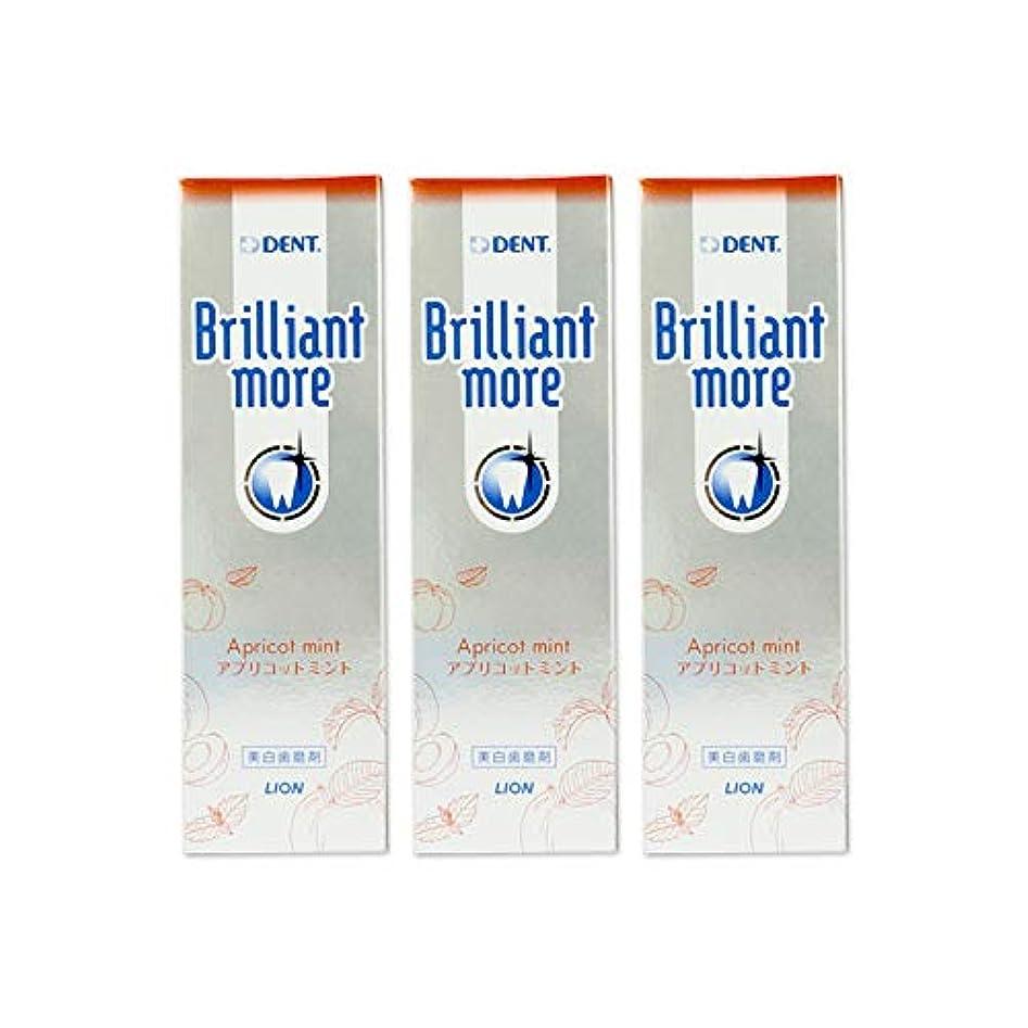 バッテリー塩辛いしなやかなライオン ブリリアントモア 90g × 3本 (アプリコットミント)
