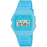 Casio Light Blue Digital Water Resistant Watch - Casio F91WC-2A