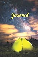 Journal: Zelten mit Sternen Notizbuch I Bullet Journal I Dot Grip I DIN A5 I 120 Seiten I Tagebuch I Skizzenbuch I Reisebericht I Oeko