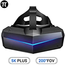 PIMAX 5K Plus UHD Resolution Virtual Reality Headset with 200°FOV and SDE Free, 1-Year Warranty