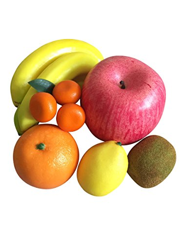 仏具 仏壇用 御供 お供 果物 お供え フルーツ 6種セット 食品サンプル りんご バナナ キウイ オレンジ レモン みかん (通年セット)