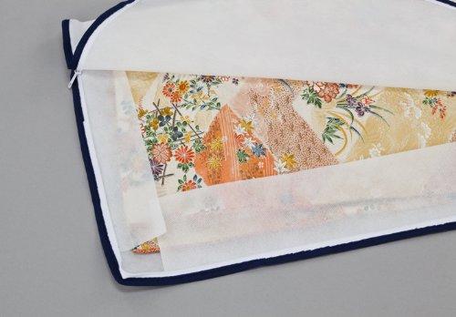 ストレージスタイル 着物 収納ケース 3方開き 5枚組 通気性抜群で丈夫な不織布製の着物保管ケースです