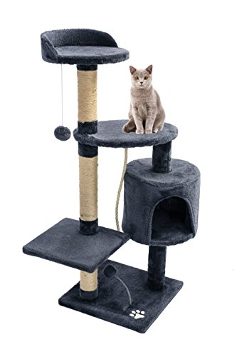 お昼寝台つき猫タワー