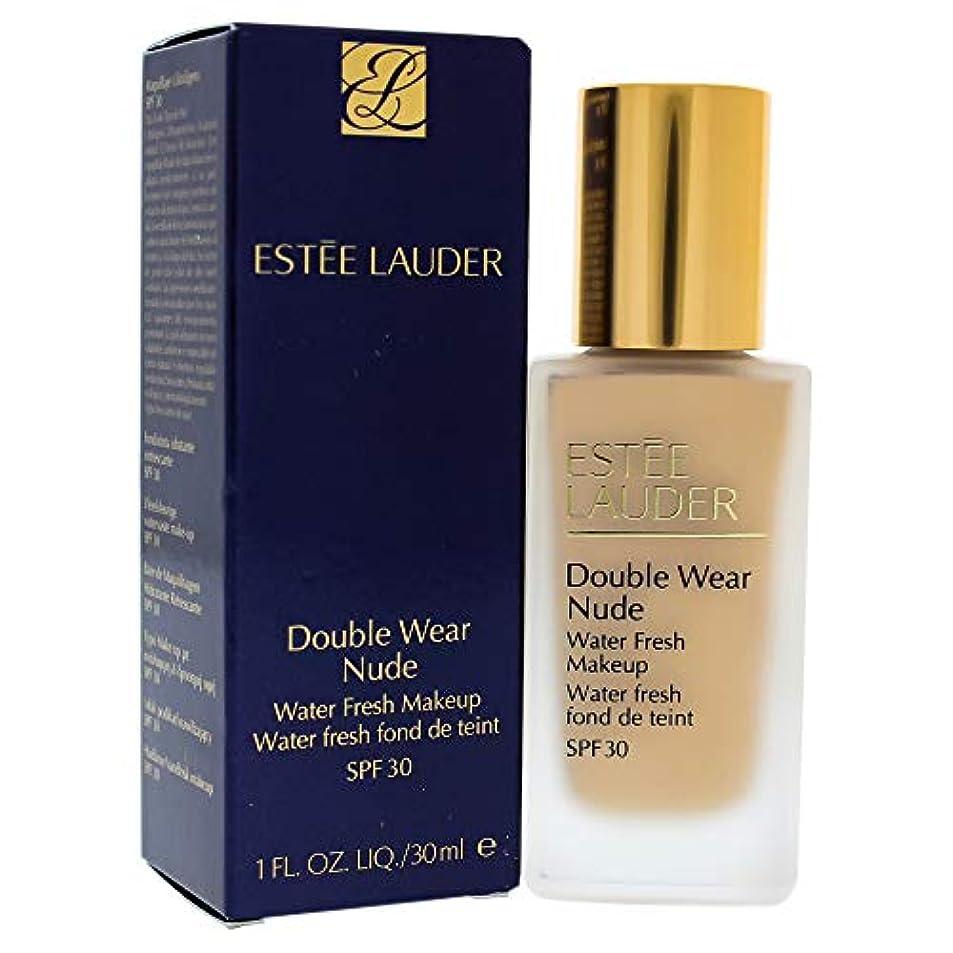 正義ダウンストライプエスティローダー Double Wear Nude Water Fresh Makeup SPF 30 - # 1W2 Sand 30ml/1oz並行輸入品