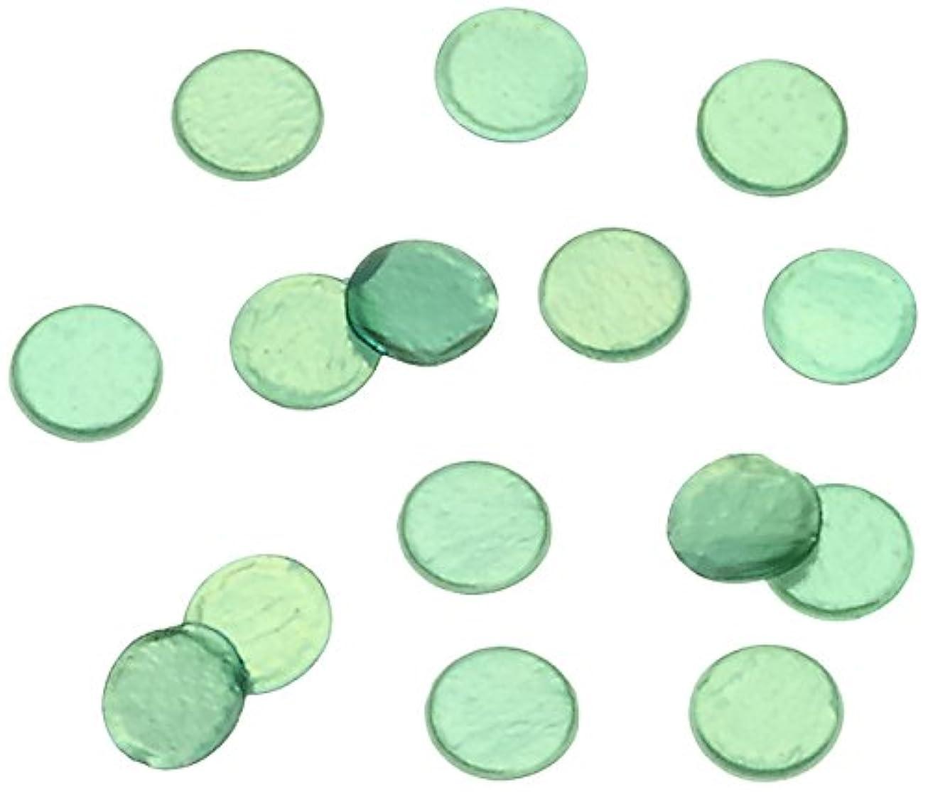 爪リーク法律によりピカエース ネイル用パウダー 丸ビビット 1.0mm #610 グリーン 0.5g