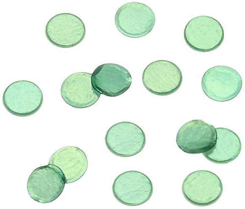 直立つづり測定可能ピカエース ネイル用パウダー 丸ビビット 1.0mm #610 グリーン 0.5g