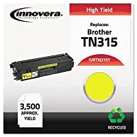 (Yellow,TN315Y) - Innovera TN315Y TN315Y Compatible, Remanufactured, TN315Y (TN315) Toner, 3500 Yield, Yellow