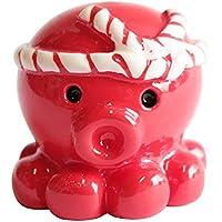 オクトパス君 マグネット おもちゃ 強力 冷蔵庫 合格祈願 お守り 縁起物 グッズ (赤/レッド)