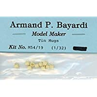 Armand P. Bayardi 1:32 1:35 54mm ブリキマグ樹脂製ジオラマアクセサリー #M54/19