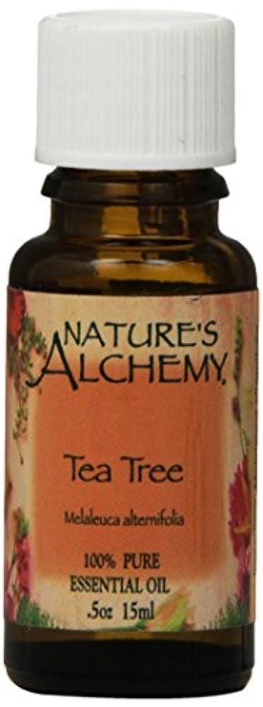 メンタリティ治世保全海外直送品Natures Alchemy Pure Essential Oil Tea Tree, 0.5 Oz
