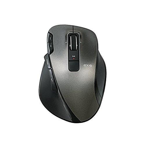 エレコム ワイヤレスマウス レーザー Ultimateレーザーセンサー搭載 フルスペックモデル 8ボタン ブラック M-XG3DLBK