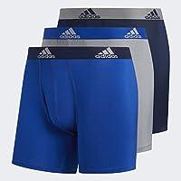 adidas Men's Performance Boxer Brief Underwear (3-Pack)