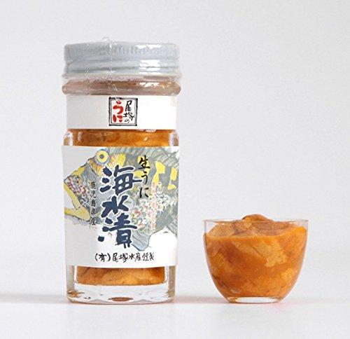 鹿児島県阿久根産 生うに海水漬 70g  2瓶