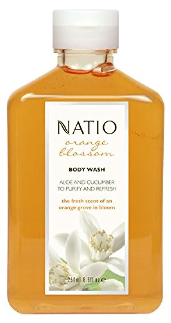 スペイン語削除する鋼Natio Orange Blossom Body Wash 250ml