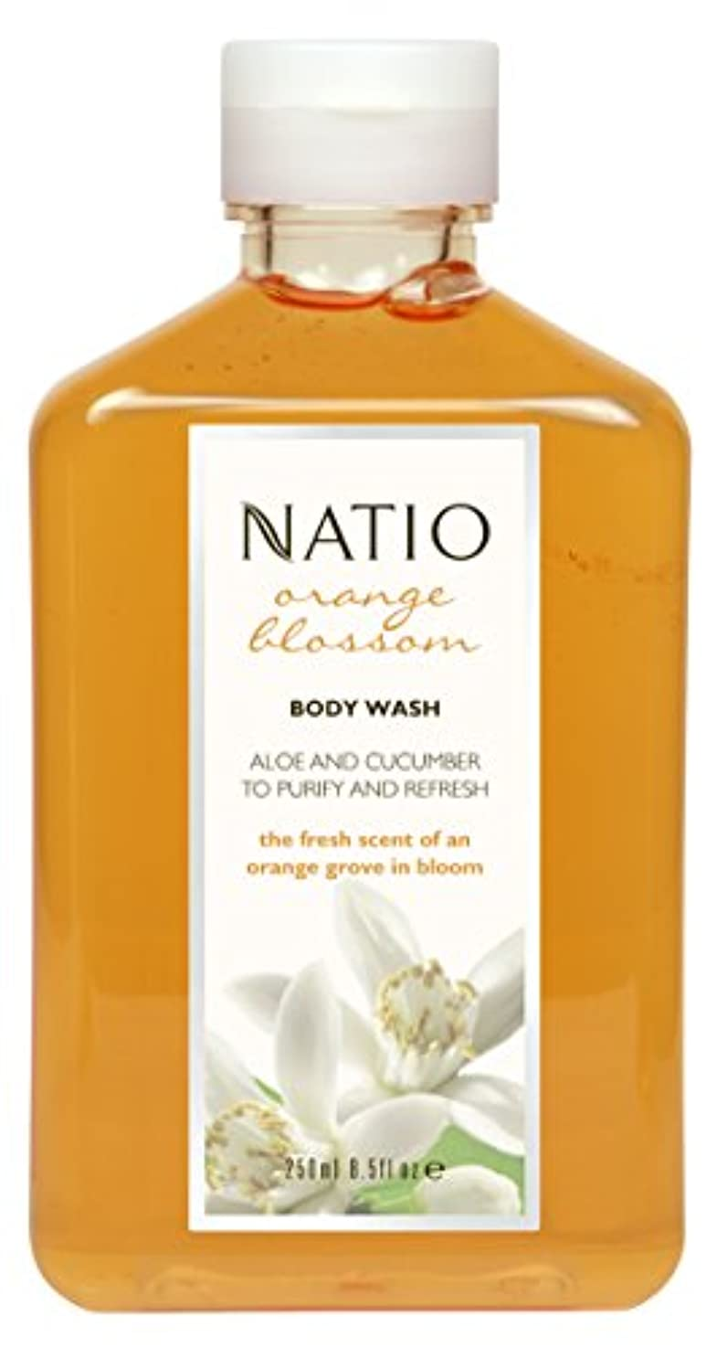 高潔な盗難住居Natio Orange Blossom Body Wash 250ml