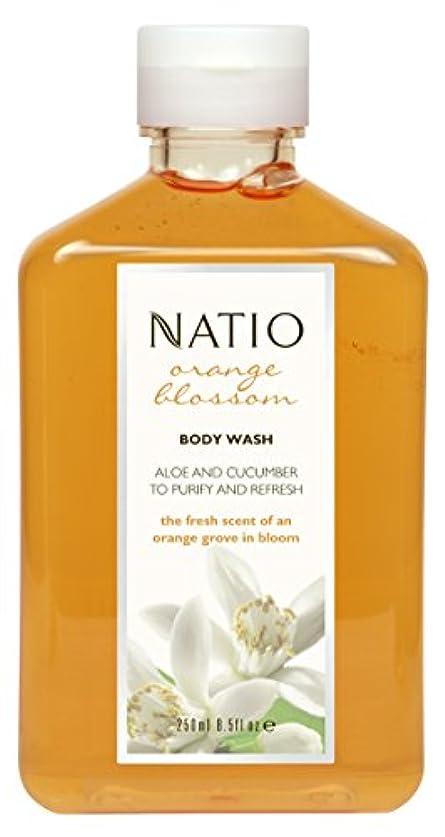 令状マイコンファセットNatio Orange Blossom Body Wash 250ml