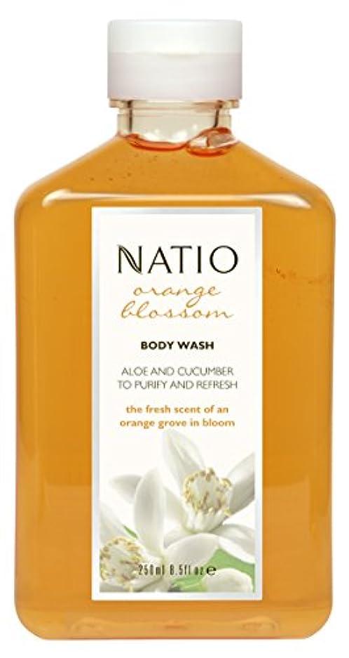 社会形隣接するNatio Orange Blossom Body Wash 250ml