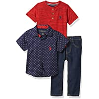U.S. POLO ASSN. Boys' Pants Set
