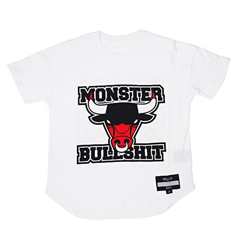 (リミテッド) LIMITED 立体裁断 アレルギー対策 で誰でも着れる キッズ Tシャツ 無地 黒 白 男の子 女の子 半袖