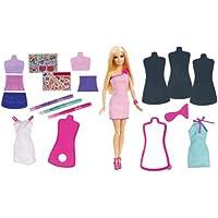Barbie Fashion Design Plates and Doll おもちゃ [並行輸入品]