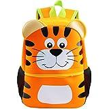 Kids Backpack | Fenrici | Boys | Girls | Toddler | Preschooler | Cute Animal Design - Tiger